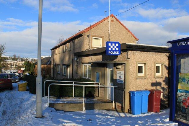 Police station Lochore