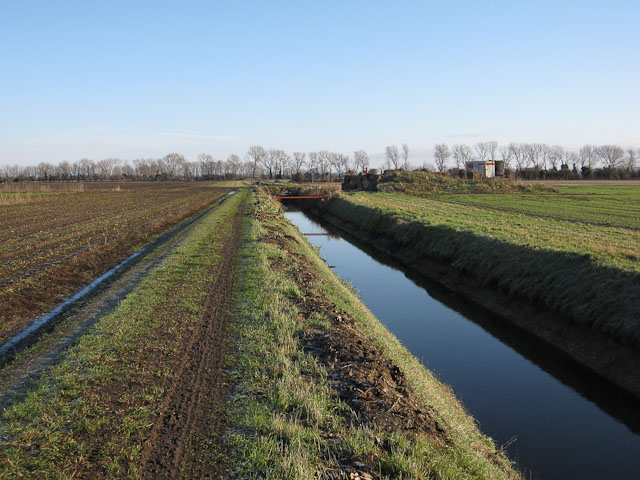 Ditch across Soham Fen