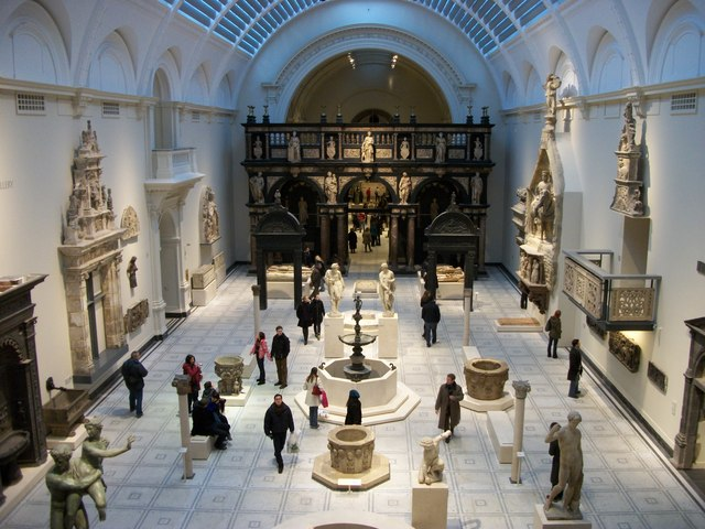 Medieval and Renaissance Galleries at the Victoria and Albert Museum
