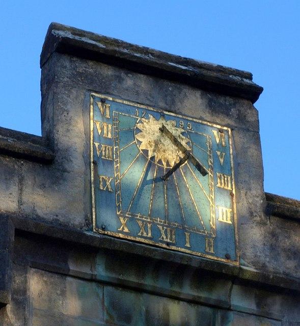Sundial, Wotton-under-Edge church