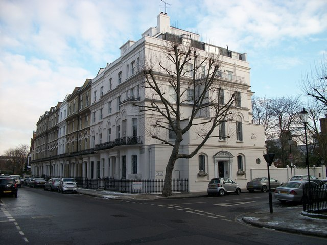 Grand House at junction of Elm Park Road and The Vale Chelsea