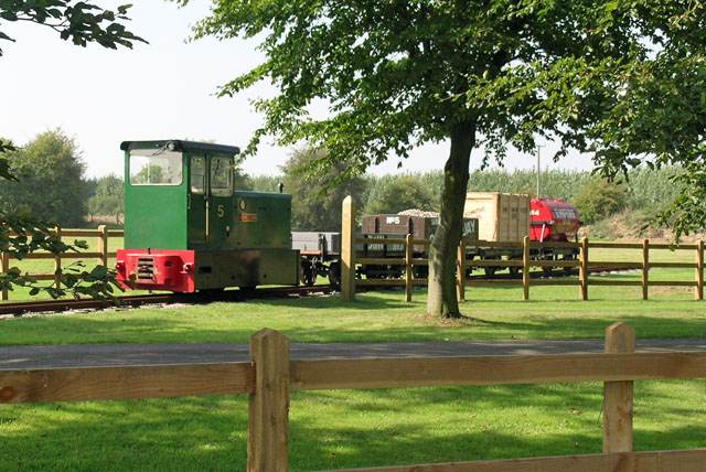 Bredgar & Wormshill Light Railway - showpiece train
