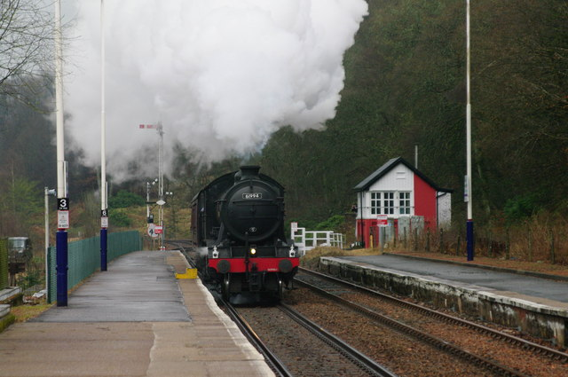 Locomotive 61994 at Dunkeld