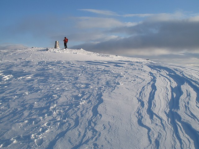 Ben Ledi summit