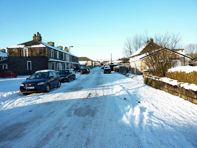 Abinger Street, Burnley