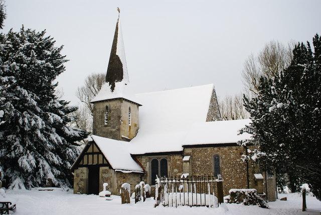 Chaldon Church, Surrey