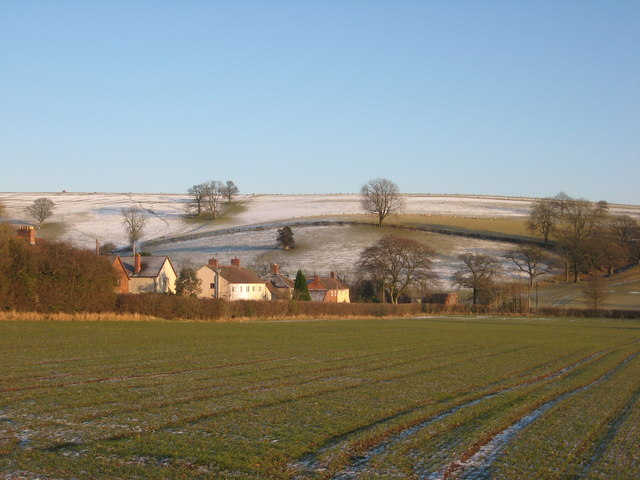 Frosty day  in the country