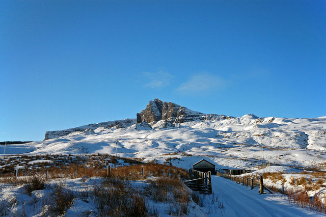 Shed below the Storr