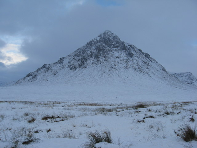 Stob Dearg in January