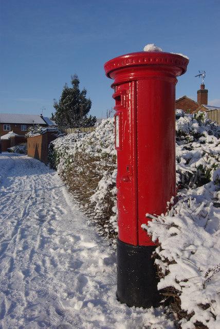 Postbox on Bilton Lane