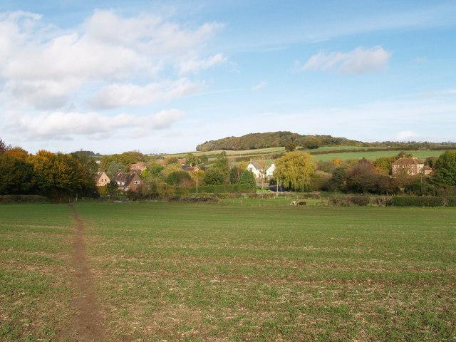 Footpath near Castle Hill