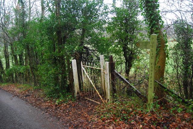 Footpath off Leigh Lane
