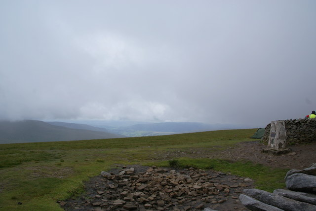 The top of Whernside
