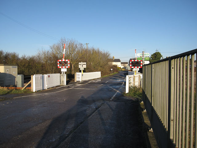 Level Crossing by Slack's Bridge