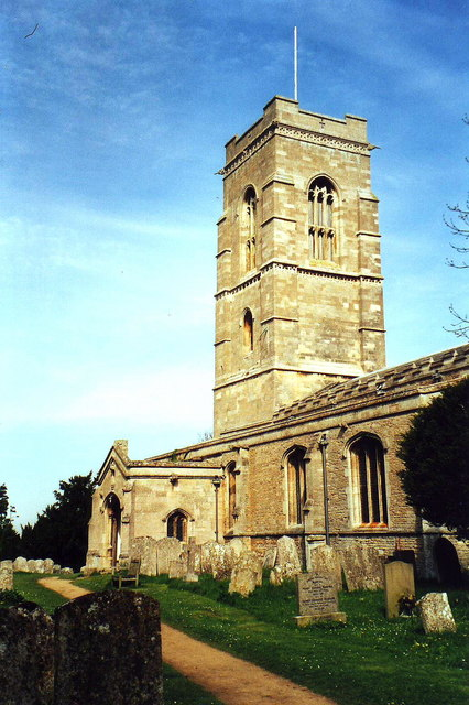 All Saints, Elton, Cambs.