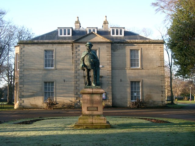 Nairn Museum, Viewfield, and Dr Grigor statue