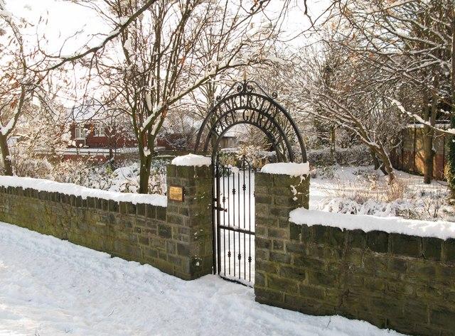 Tankersley Peace Garden