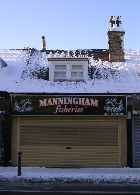 Manningham fisheries - Manningham Lane