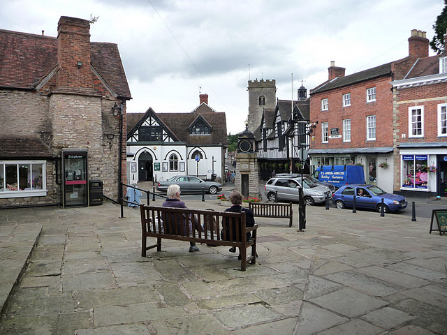 The Market Square, Much Wenlock