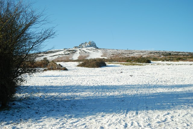 Haytor in winter