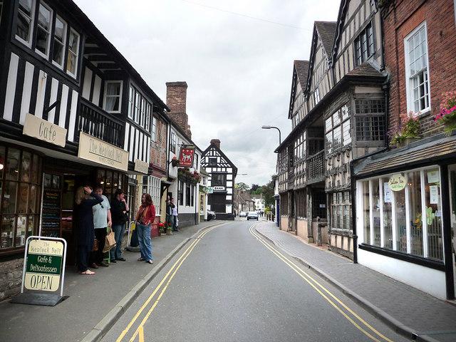 High Street, Much Wenlock