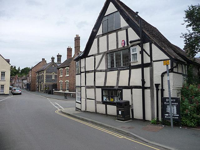 Road Junction, Much Wenlock