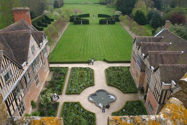 Gardens at Coughton Court