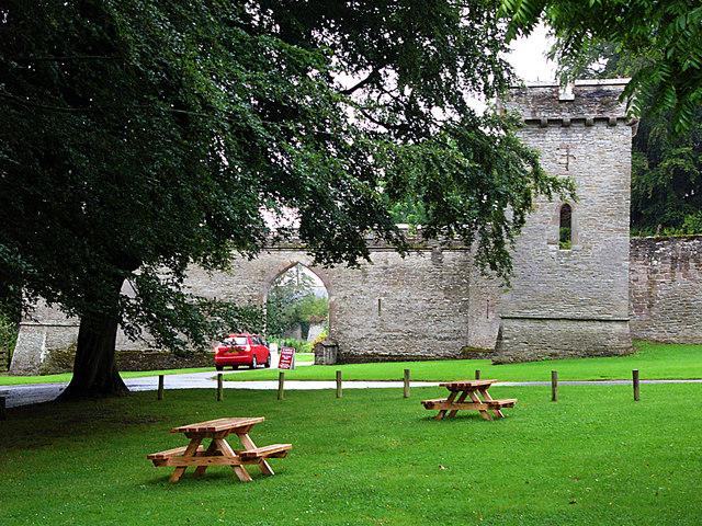 Croft Castle entrance