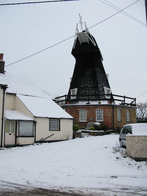 Windmill on Mill Lane, Eastry