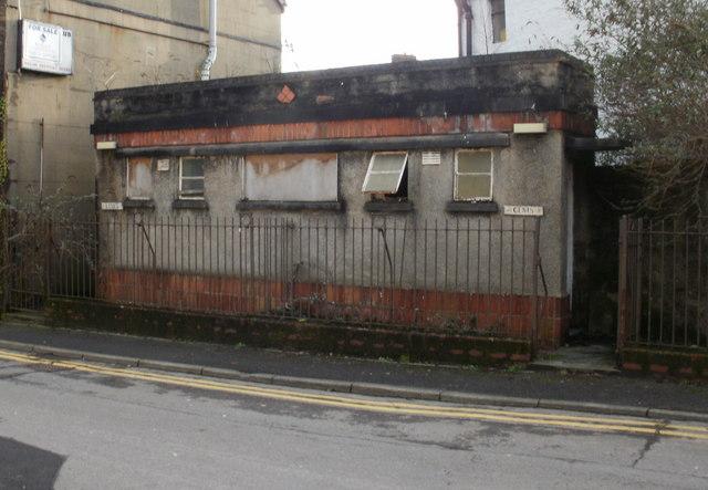 Derelict public conveniences, Old Cwmbran