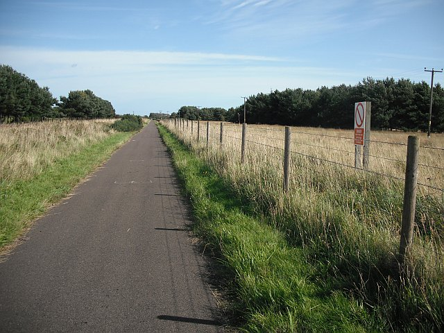 Long straight track