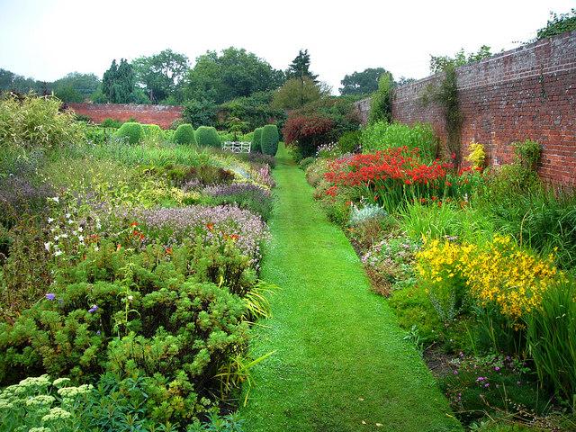 Croft Castle, walled garden