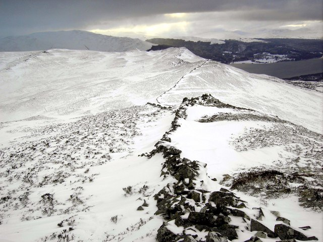 Carn Fiaclach Ridge