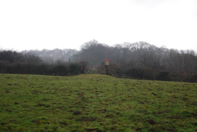 Level Crossing gate, West Somerset Railway