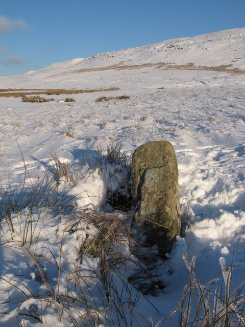 The inscribed stone of Pontsticill