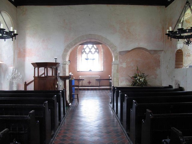 St Andrew, Ford, Sussex - East end