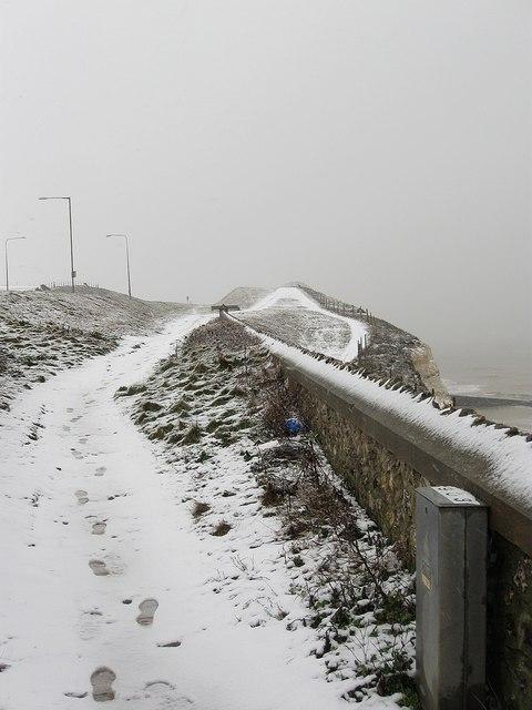 Clifftop Footpath, Ovingdean Gap
