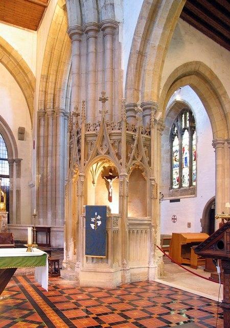 St Nicholas, Arundel, Sussex - Pulpit