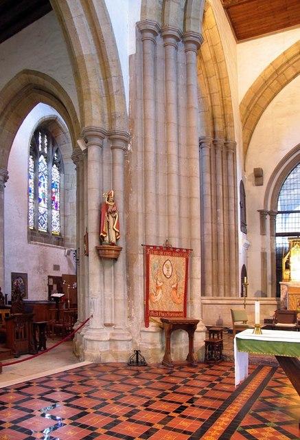 St Nicholas, Arundel, Sussex - Interior