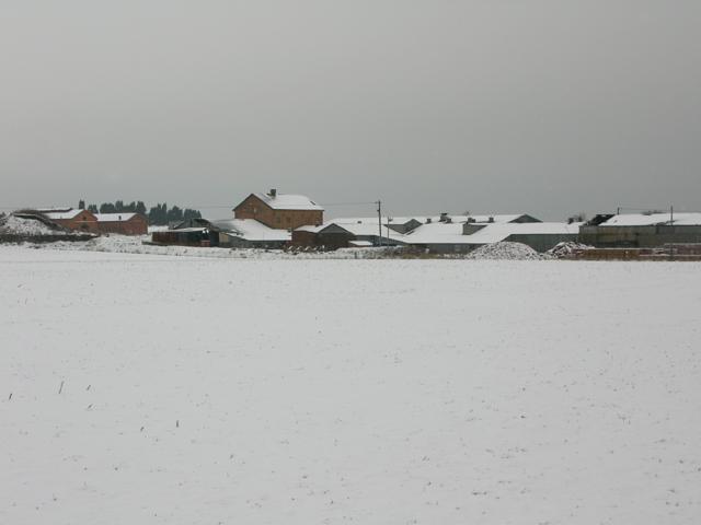 Hammill brickworks made pretty by snow!