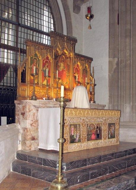 St Nicholas, Arundel, Sussex - High Altar
