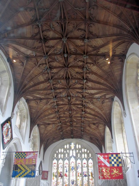 St Nicholas, Arundel, Sussex - Roof