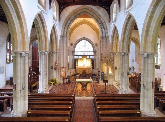 St Nicholas, Arundel, Sussex - East end