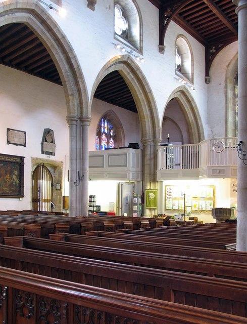 St Nicholas, Arundel, Sussex - Arcade