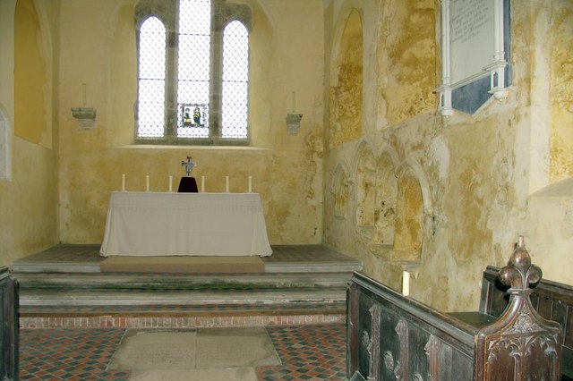 St Mary, North Stoke, Sussex - Chancel