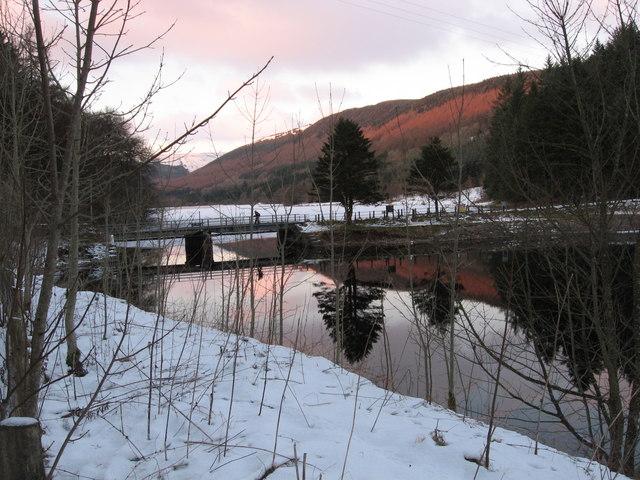 Bridge between Pontsticill and Pentwyn Reservoirs