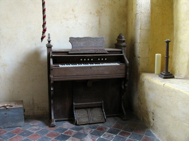 St Mary, North Stoke, Sussex - Harmonium