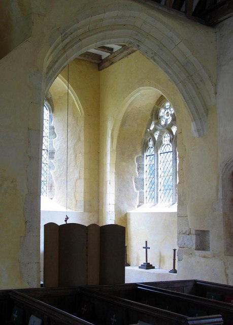 St Mary, North Stoke, Sussex - Interior