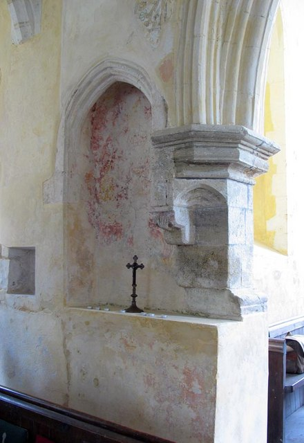 St Mary, North Stoke, Sussex - Stonework