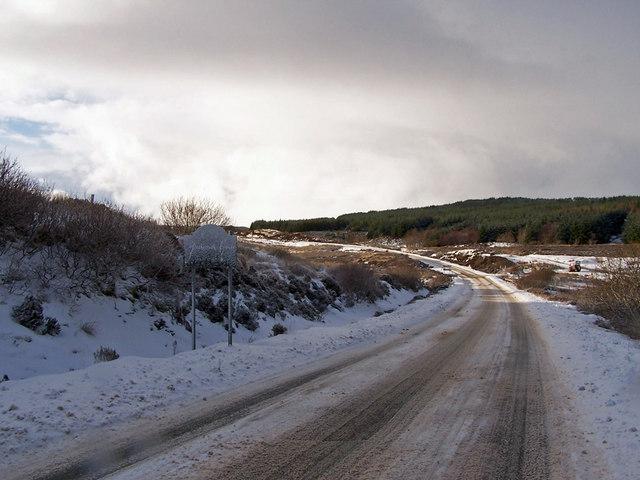 A850 towards Dunvegan